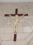 Saint-Martial sur le Né - L'église Saint-Martial - Le Crucifix (17 juillet 2018)