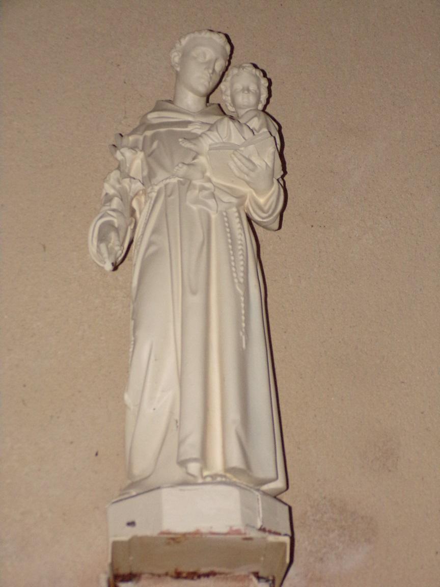 Saint-Martial sur le Né - L'église Saint-Martial - Saint Antoine de Padoue (17 juillet 2018)