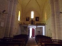 Saint-Même les Carrières - L'église Saint-Maxime - Vue de l'autel (8 septembre 2016)