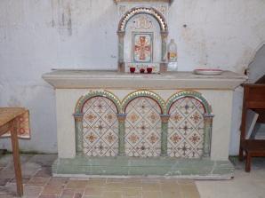 Saint-Preuil - L'église Saint-Projet - L'abside (20 juin 2018)