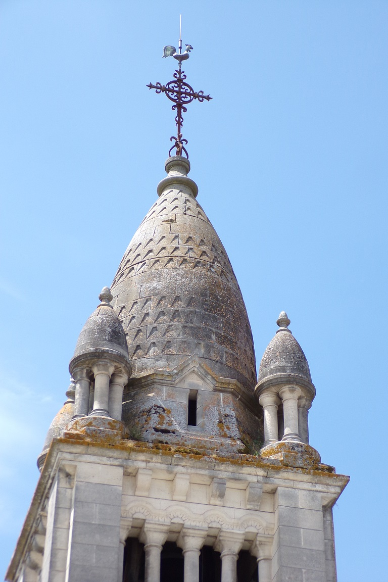 Sainte-Sévère - L'église Saint Augustin (12 juin 2017)