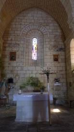 Saint-Simon - L'église Saint-Simon - Le choeur (5 mai 2018)