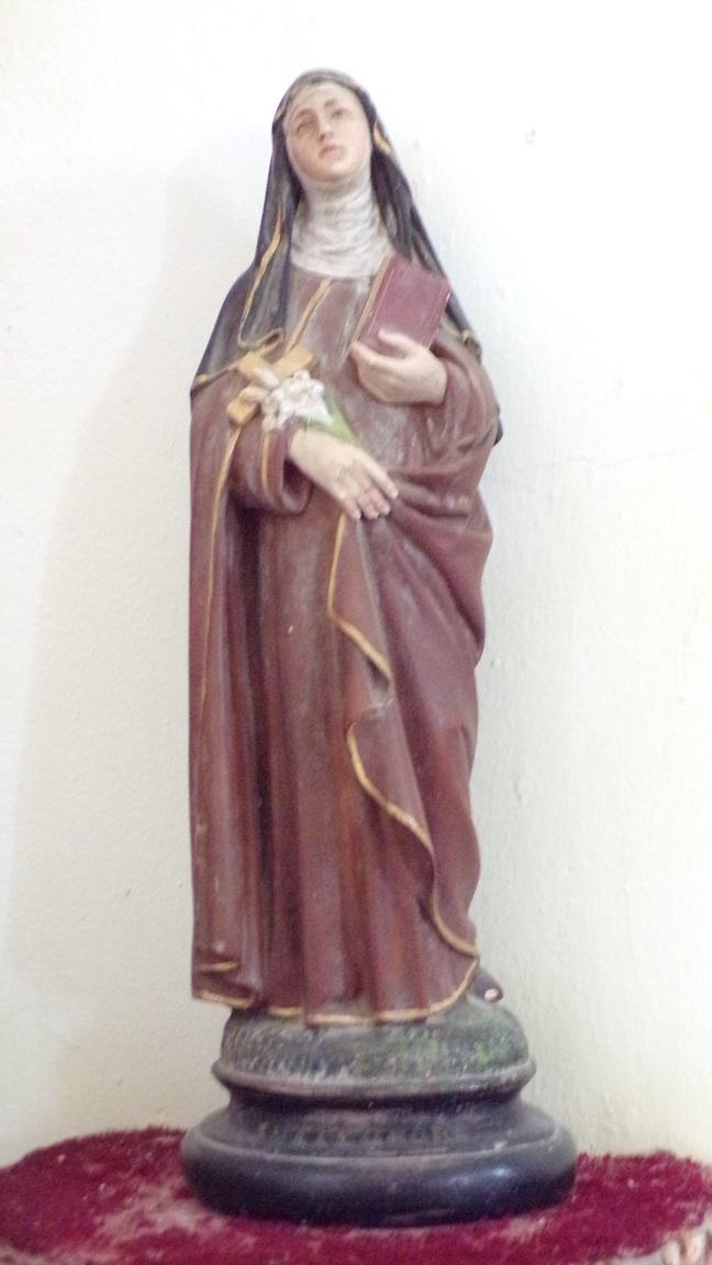 Boutiers-Saint-Trojan - L'église Saint-Trojan - Sainte Thérèse de Lisieux (23 avril 2018)