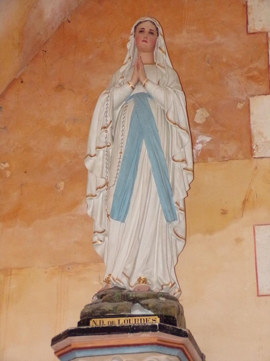 Sainte-Sévère - L'église Saint Augustin - Notre Dame de Lourdes (23 juillet 2018)
