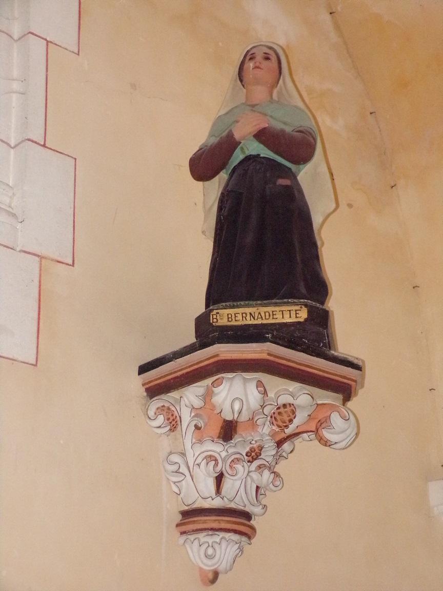 Sainte-Sévère - L'église Saint Augustin - Sainte Bernadette (23 juillet 2018)
