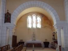 Sainte-Sévère - L'église Saint Augustin (23 juillet 2018)