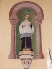 Sainte-Sévère - L'église Saint Augustin - Saint Louis de Gonzague (23 juillet 2018)