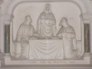 Sainte-Sévère - L'église Saint Augustin - L'autel (23 juillet 2018)