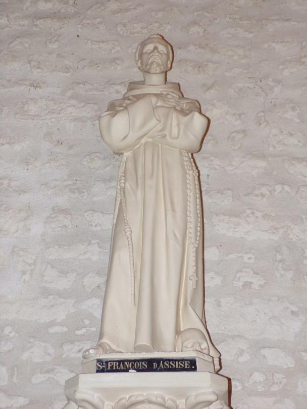 Salignac-sur-Charente - L'église Saint-Louis - Saint François d'Assise (27 juin 2018)