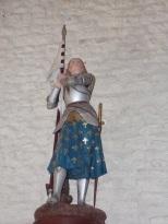 Salignac-sur-Charente - L'église Saint-Louis - Sainte Jeanne d'Arc (27 juin 2018)
