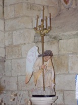 Salles d'Angles - La Chapelle des Templiers - Un ange (30 juin 2020)