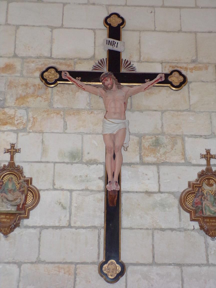 Salles d'Angles - La Chapelle des Templiers - Le Crucifix (30 juin 2020)