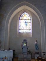 Segonzac - L'église Saint-Pierre - Chapelle 'Notre Dame de Lourdes' (11 juillet 2018)