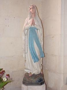 Segonzac - L'église Saint-Pierre - Notre Dame de Lourdes (11 juillet 2018)