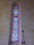 Segonzac - L'église Saint-Pierre - Un vitrail (11 juillet 2018)