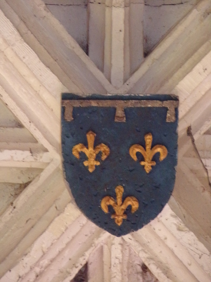 Segonzac - L'église Saint-Pierre - Une clef de voûte (11 juillet 2018)