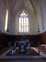 Segonzac - L'église Saint-Pierre - La Choeur (11 juillet 2018)