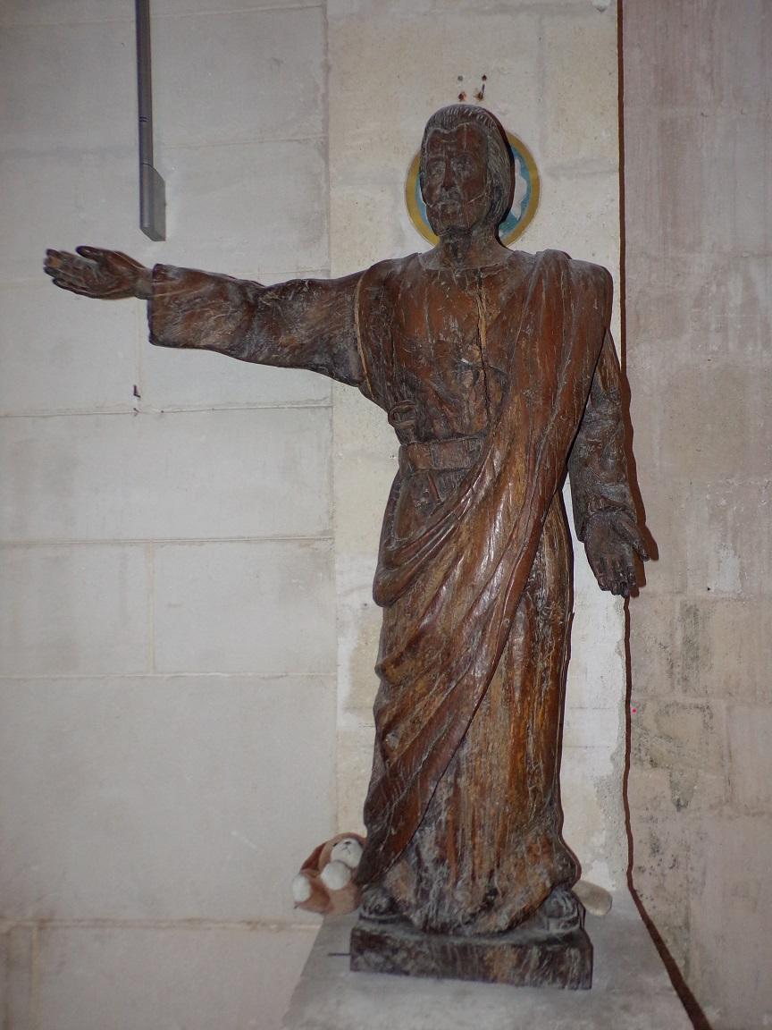 Segonzac - L'église Saint-Pierre - Saint-Pierre (11 juillet 2018)