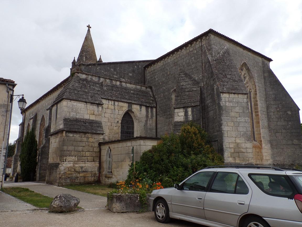 Segonzac - L'église Saint-Pierre (18 septembre 2016)