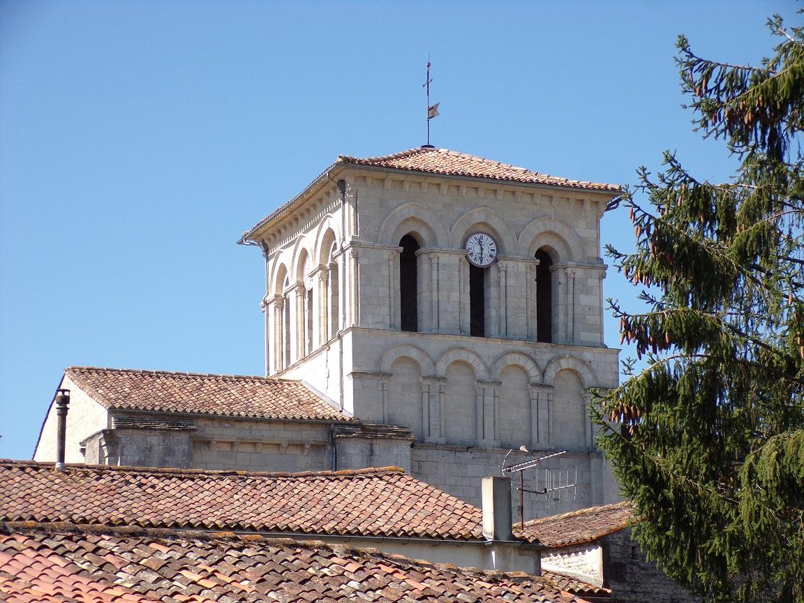 Sigogne - L'église Saint-Martin (29 juillet 2019)