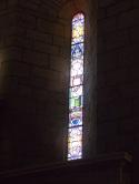 Sigogne - L'église Saint-Martin - Le vitrail 'Sainte Germaine' (29 juillet 2019)