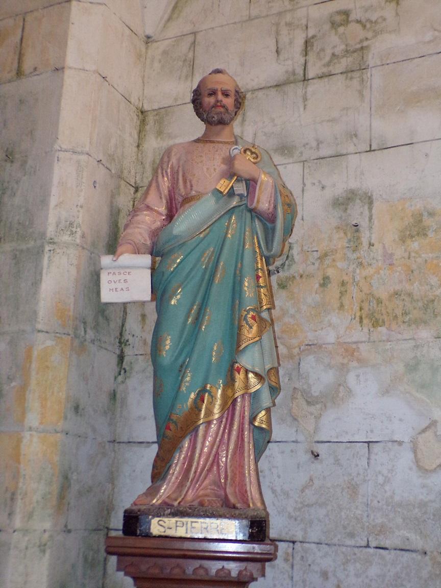 Verrières - L'église Saint-Palais - Saint Pierre (7 mai 2018)