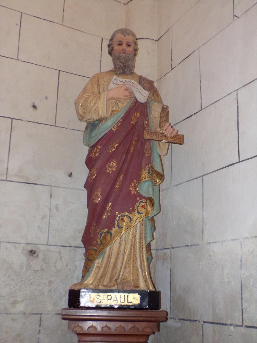 Verrières - L'église Saint-Palais - Saint Paul (7 mai 2018)