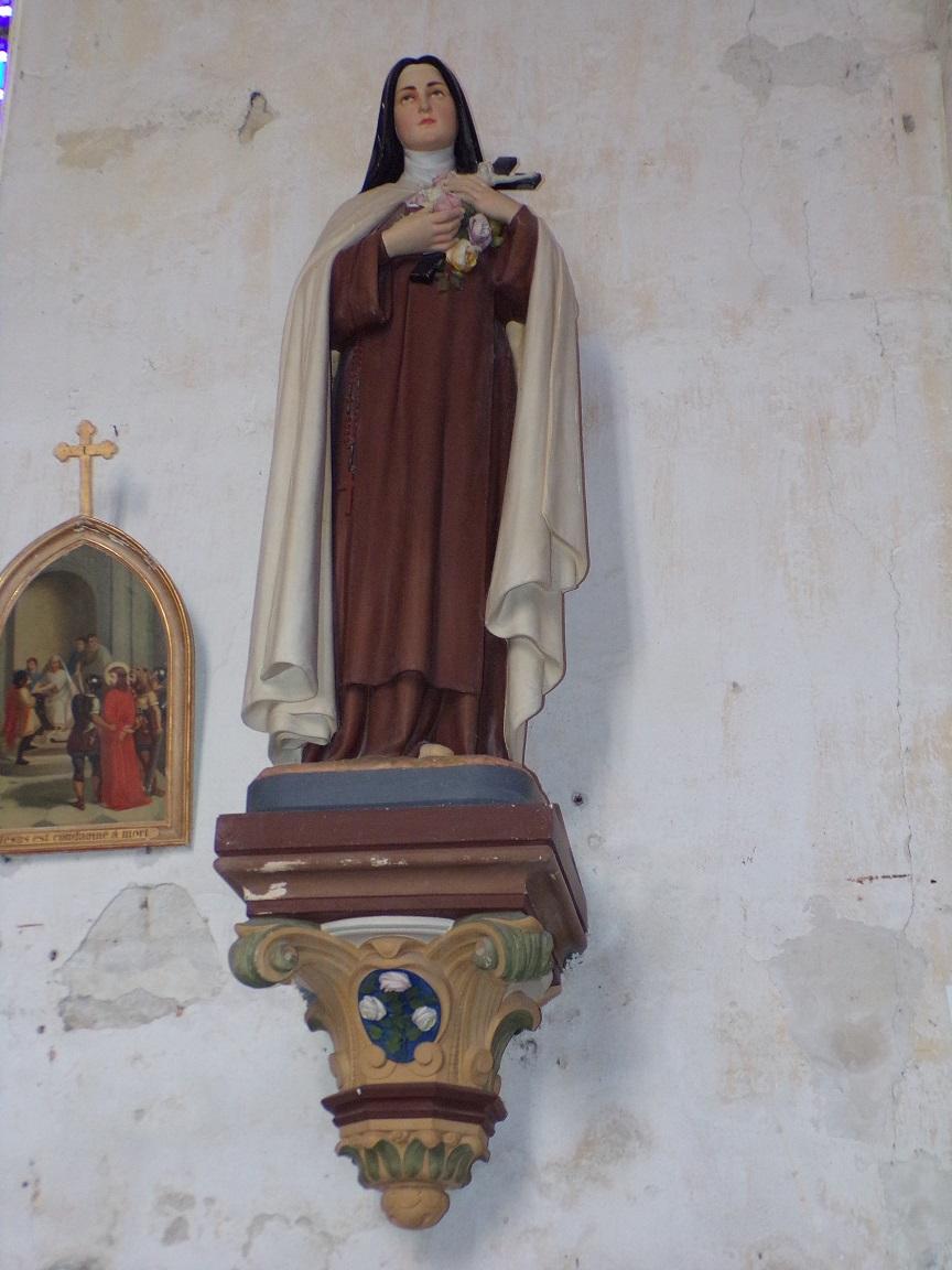 Verrières - L'église Saint-Palais - Sainte Thérèse de Lisieux (7 mai 2018)