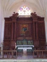 Verrières - L'église Saint-Palais - Le Choeur (7 mai 2018)