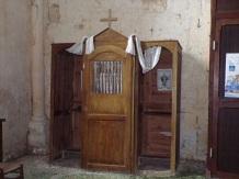 Verrières - L'église Saint-Palais - Le confessionnal (7 mai 2018)