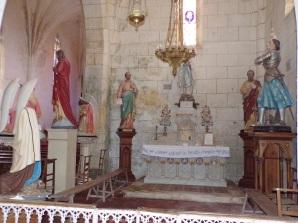Verrières - L'église Saint-Palais - La chapelle (7 mai 2018)