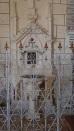 Angeac-Charente - L'église Saint-Pierre - Fonts baptismaux (5 mai 2018)