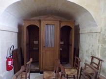 Ars - Eglise Saint-Maclou - Le confessionnal (24 mai 2018)