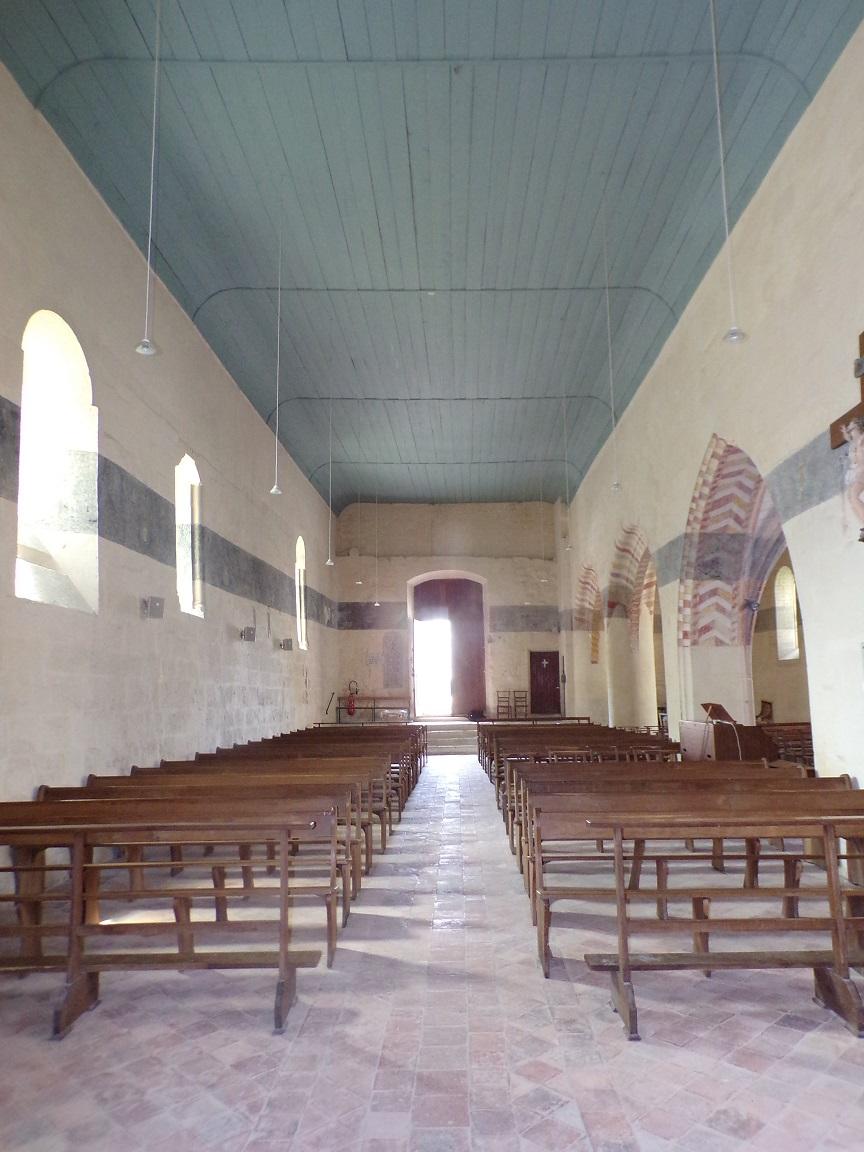 Ars - Eglise Saint-Maclou - Vue de l'autel (24 mai 2018)