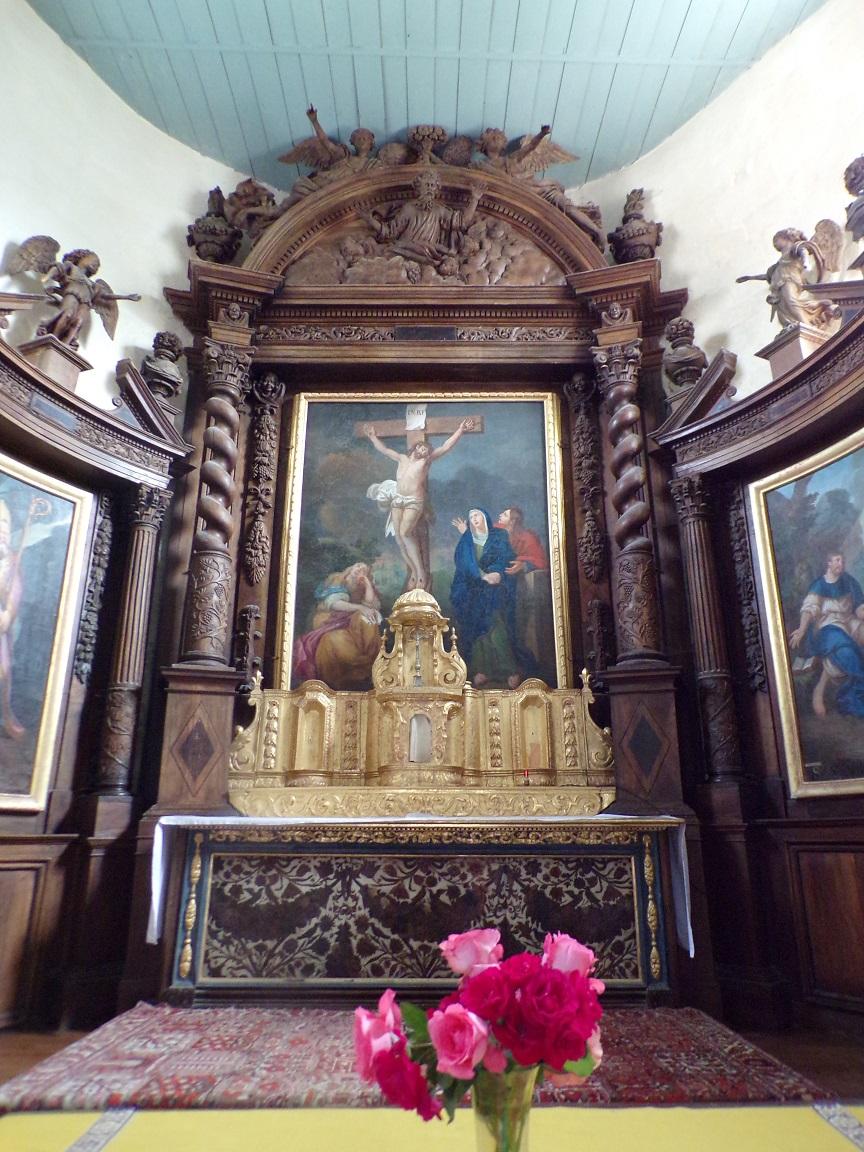 Ars - L'église Saint-Maclou - L'abside (24 mai 2018)
