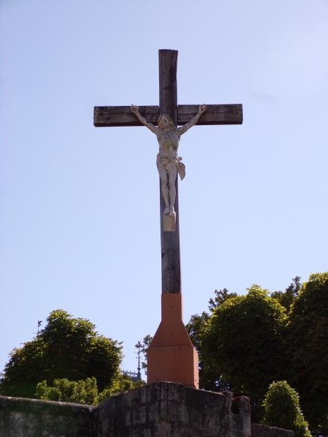 Bassac - L'ancienne église Saint-Nicolas - Le Crucifix (22 juin 2020)