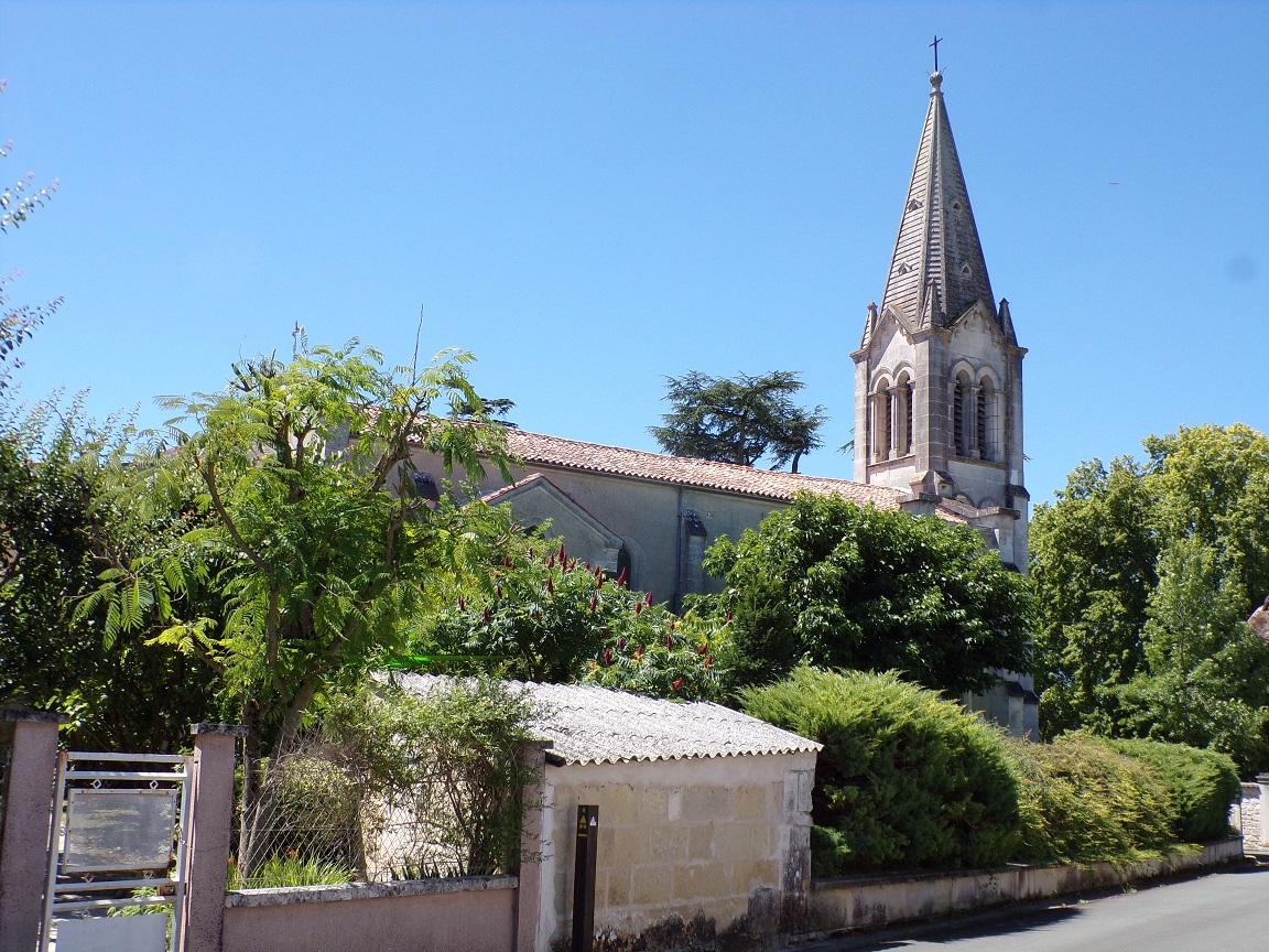 Brives sur Charente - L'église Saint-Etienne (25 juin 2018)
