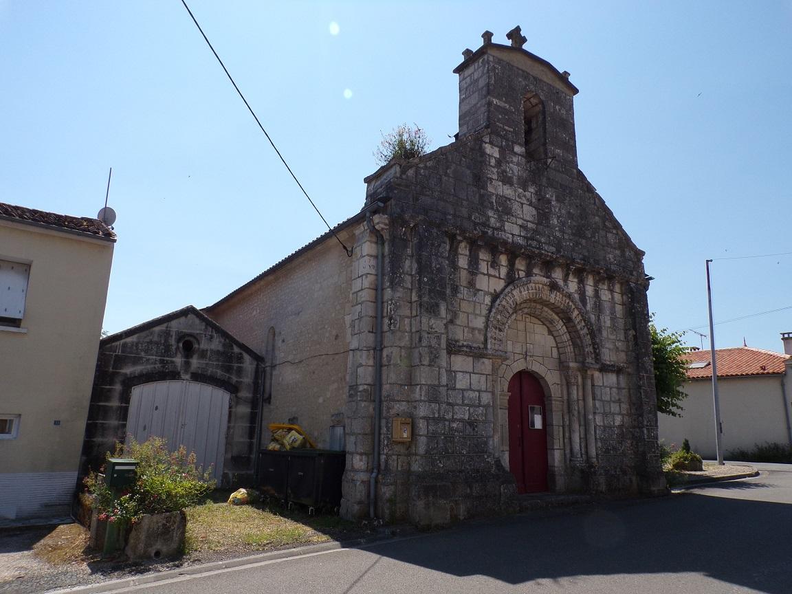 Celles - L'église Saint-Christophe (8 juillet 2018)