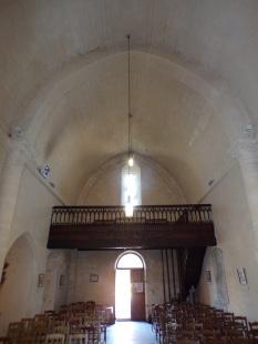 Châteaubernard - La chapelle Saint-Jean - Vue de l'autel (24 septembre 2018)