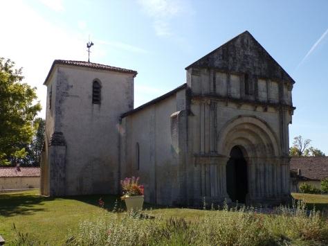 Coulonges - L'église Saint-Saturnin (24 août 2019)
