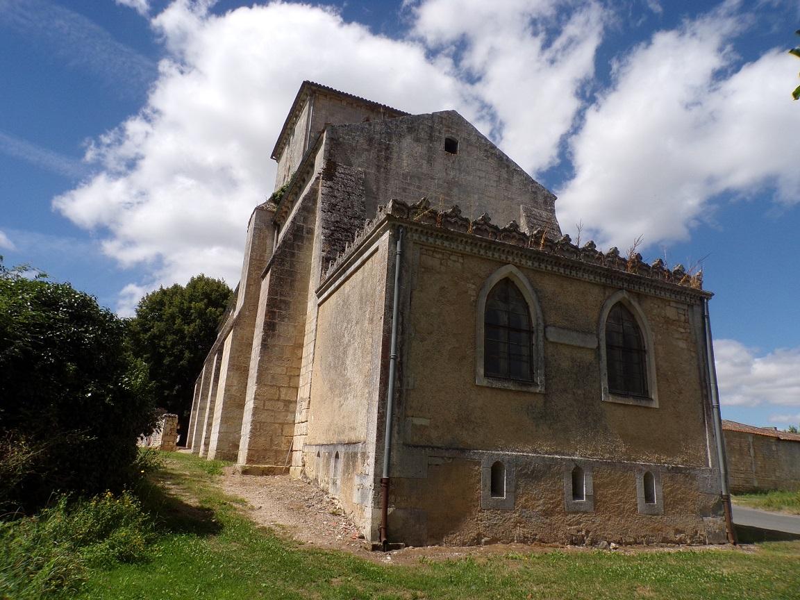 Angeac-Charente - L'église Saint-Pierre (18 août 2016)