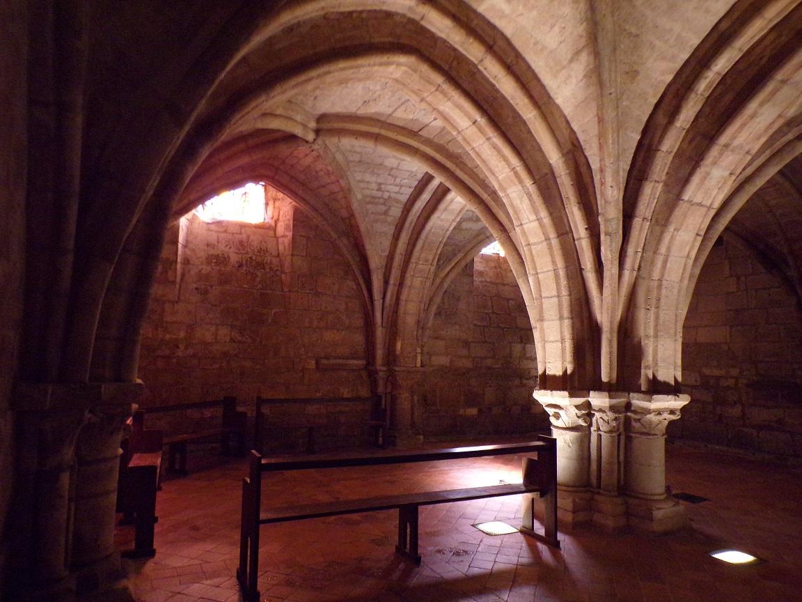 Jarnac - La crypte de l'église Saint-Pierre (21 septembre 2016)