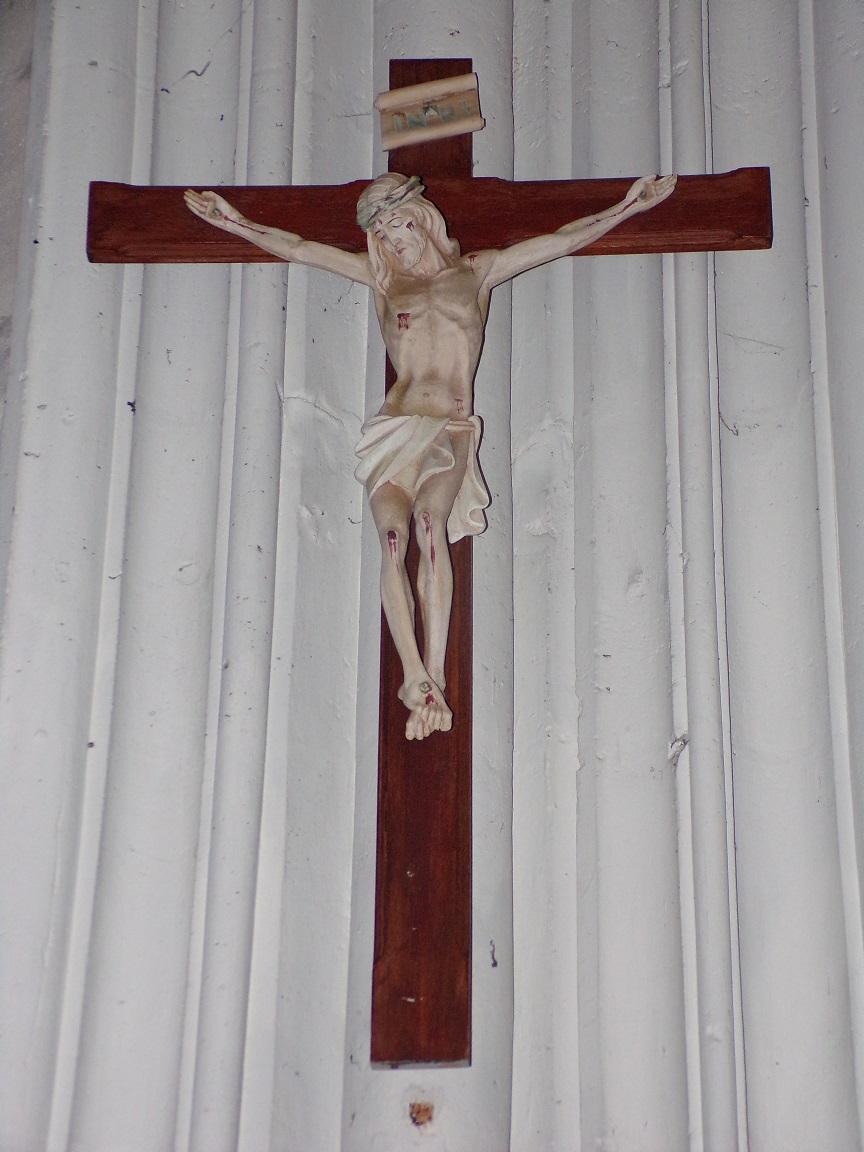 Cognac - L'église Saint-Jacques - Le Crucifix (2 mars 2021)