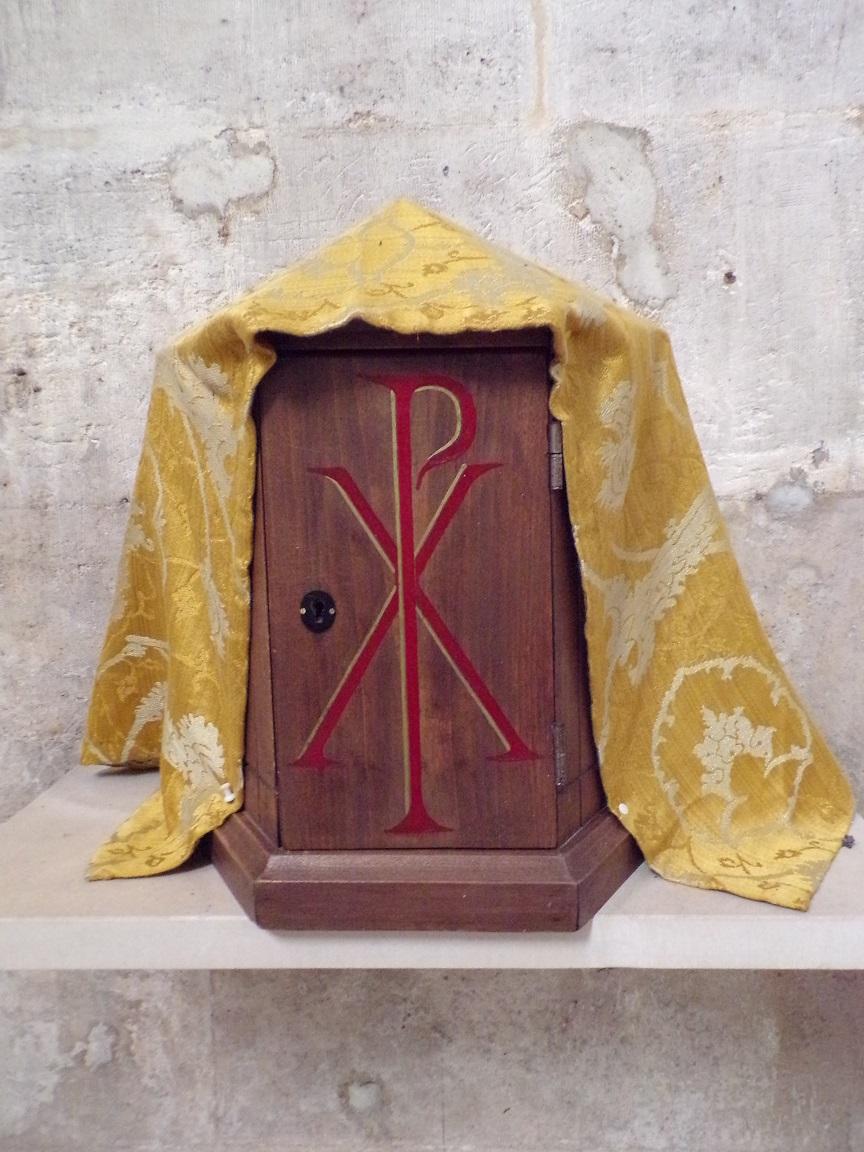 Cognac - L'église Saint-Jacques - Le tabernacle (2 mars 2021)