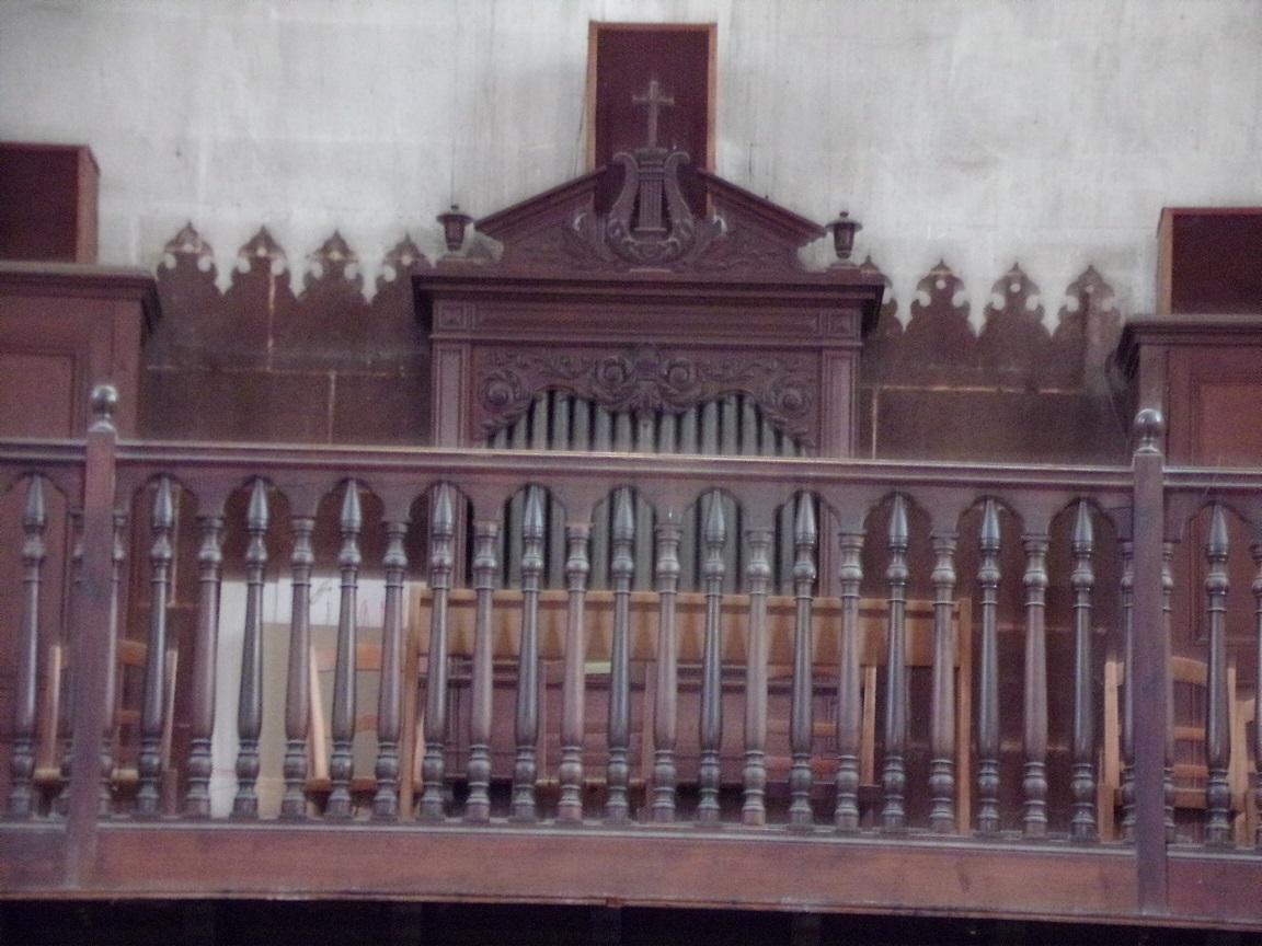 Cognac - L'église Saint-Jacques - L'orgue (2 mars 2021)