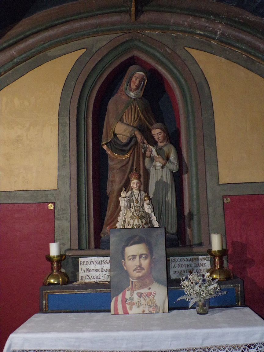 Cognac - L'église Saint-Léger - La chapelle Notre Dame du Sacré Coeur (25 février 2021)