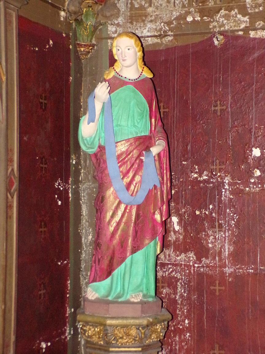 Cognac - L'église Saint-Léger - La chapelle Saint-Joseph (25 février 2021)