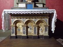 Cognac - L'église Saint-Léger - L'autel de la chapelle Notre Dame du Sacré Coeur (25 février 2019)