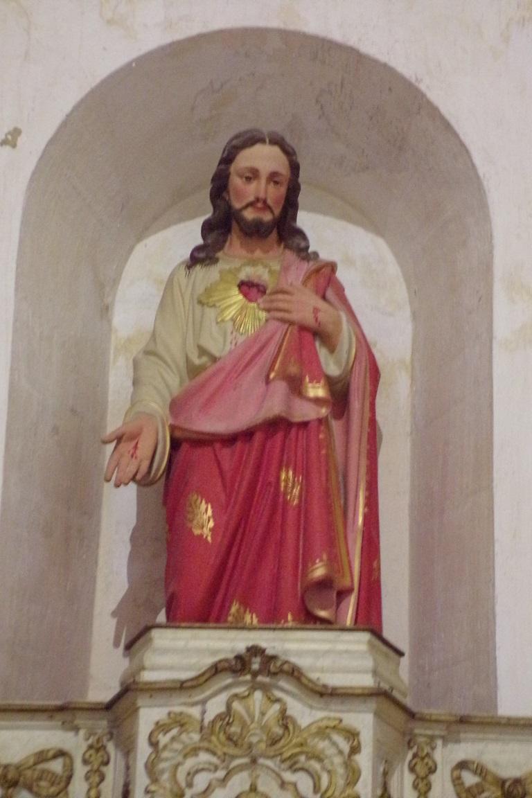 Sonnac - L'église Saint-Etienne - Sacré Coeur de Jésus (2 janvier 2018)