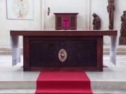Église Saint-Martin, du Sacré-Coeur - L'autel 19 mars 2021)